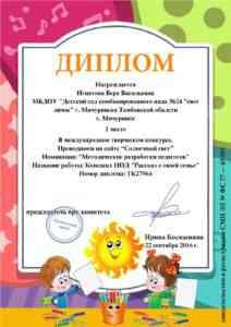 Диплом Игнатова В.В.